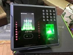 Máy chấm công nhận diện khuôn mặt ZKTeco MB160